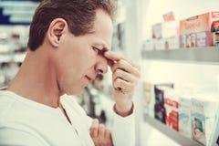 Στο φαρμακείο στοκ φωτογραφίες