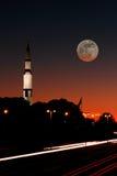 Στο φεγγάρι Στοκ Εικόνες