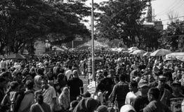Στο φεστιβάλ Στοκ Εικόνες