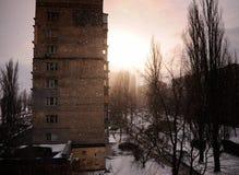 Στο χειμώνα Στοκ φωτογραφίες με δικαίωμα ελεύθερης χρήσης