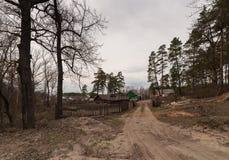 Στο χωριό Στοκ εικόνες με δικαίωμα ελεύθερης χρήσης