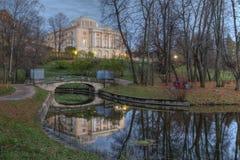 Στο Pavlovsk πάρκο Στοκ φωτογραφία με δικαίωμα ελεύθερης χρήσης