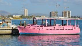Στρέμμα Akko θαλάσσιων λιμένων Στοκ φωτογραφία με δικαίωμα ελεύθερης χρήσης