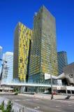 Στρέψτε τους δίδυμους πύργους στο Λας Βέγκας, Νεβάδα, ΗΠΑ Στοκ εικόνα με δικαίωμα ελεύθερης χρήσης