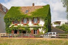Στρασβούργο, Γαλλία με τη ζωηρόχρωμη αρχιτεκτονική στοκ φωτογραφία με δικαίωμα ελεύθερης χρήσης