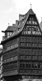 Στρασβούργο, μέρος του συμπαθητικού σπιτιού στη λεπτοκαμωμένη περιοχή της Γαλλίας Στοκ φωτογραφίες με δικαίωμα ελεύθερης χρήσης