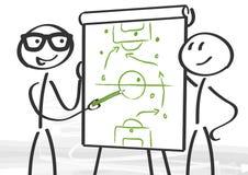 Στρατηγική και διαβούλευση διανυσματική απεικόνιση