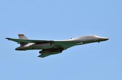 Στρατηγικό πυρηνικό βομβαρδιστικό αεροπλάνο Στοκ Εικόνα