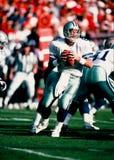 Στρατηγός του Troy Aikman Dallas Cowboys Στοκ εικόνες με δικαίωμα ελεύθερης χρήσης