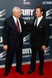 Στρατηγός Colin Powell, Brad Pitt Στοκ φωτογραφία με δικαίωμα ελεύθερης χρήσης
