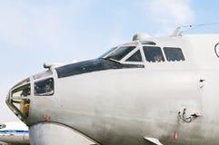 Στρατιωτικά αεροσκάφη ένας-12 μεταφορών αμαξιών Στοκ εικόνες με δικαίωμα ελεύθερης χρήσης