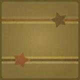 Στρατιωτικά αστέρια Στοκ Εικόνα
