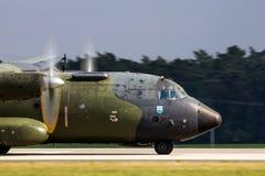 Στρατιωτικά γ-160 αεροσκάφη φορτίου Transall Στοκ Εικόνες