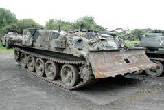 Στρατιωτικά οχήματα Στοκ Φωτογραφίες