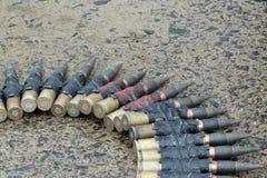 Στρατιωτικά πυρομαχικά Στοκ Φωτογραφία