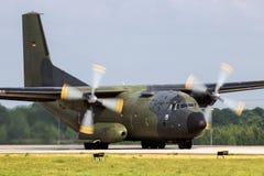 Στρατιωτικά C160 αεροσκάφη φορτίου Transall Στοκ Εικόνες