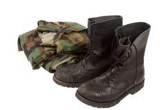 στρατιωτικές στολές Στοκ εικόνα με δικαίωμα ελεύθερης χρήσης