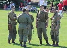 Στρατιωτική άσκηση Στοκ Εικόνα