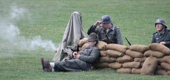 Στρατιωτική άσκηση Στοκ Φωτογραφία