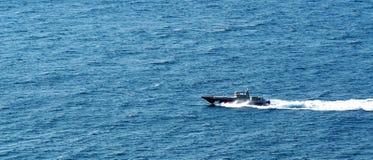 Στρατιωτική βάρκα Στοκ Εικόνες