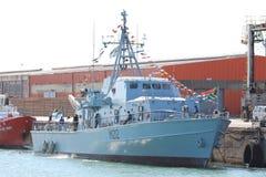 Στρατιωτική βάρκα Στοκ Εικόνα