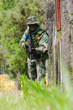 στρατιωτική εκπαίδευση αγώνα στοκ εικόνες με δικαίωμα ελεύθερης χρήσης