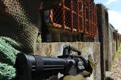 στρατιωτική εκπαίδευση αγώνα Στοκ Εικόνα