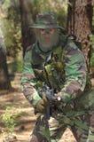 στρατιωτική εκπαίδευση αγώνα Στοκ Εικόνες