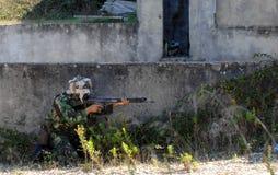 στρατιωτική εκπαίδευση &a στοκ εικόνες με δικαίωμα ελεύθερης χρήσης