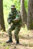 στρατιωτική εκπαίδευση &a Στοκ Εικόνες