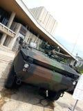 Στρατιωτική μηχανή Στοκ Εικόνα