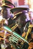 Στρατιωτική ορχήστρα σε Lourdes Στοκ Εικόνες