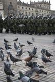 Στρατιωτική παρέλαση στη Μπογκοτά, Κολομβία Στοκ εικόνα με δικαίωμα ελεύθερης χρήσης