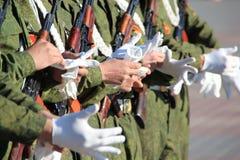 στρατιωτική παρέλαση Στοκ φωτογραφία με δικαίωμα ελεύθερης χρήσης