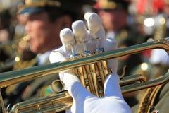 στρατιωτική παρέλαση Στοκ Φωτογραφία