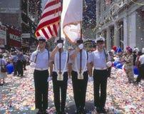 Στρατιωτική παρέλαση νίκης θύελλας ερήμων, Washington DC στοκ εικόνα