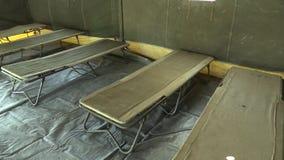 Στρατιωτική σκηνή στρατού με το PE πολυαιθυλενίου ιδιαίτερα ανθεκτική και στερεό, που χρησιμοποιείται στις αποστολές τομέων στο Α φιλμ μικρού μήκους