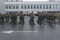 Στρατιωτική συγκέντρωση Στοκ εικόνες με δικαίωμα ελεύθερης χρήσης