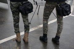 Στρατιωτική συγκέντρωση Στοκ φωτογραφίες με δικαίωμα ελεύθερης χρήσης