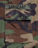 στρατιωτική τσέπη Στοκ φωτογραφία με δικαίωμα ελεύθερης χρήσης