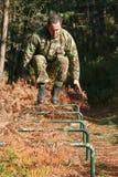 στρατιωτική φυσική κατάρτ&i Στοκ Εικόνες