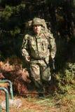 στρατιωτική φυσική κατάρτ&i στοκ εικόνα με δικαίωμα ελεύθερης χρήσης