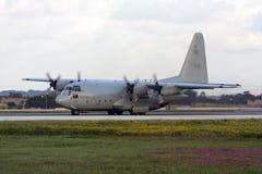 Στρατιωτική turboprop φορτίου επένδυση για την απογείωση Στοκ εικόνες με δικαίωμα ελεύθερης χρήσης