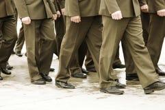 στρατιωτικοί αξιωματούχ&omi Στοκ Εικόνα