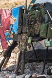 Στρατιωτικοί εξοπλισμός και πυρομαχικά Στοκ Φωτογραφία