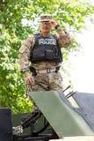 Στρατιωτικοί εξοπλισμός και στρατιώτες στο γύρο ΙΙ Dragoon Στοκ εικόνες με δικαίωμα ελεύθερης χρήσης