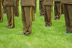 στρατιωτικοί μουσικοί Στοκ Φωτογραφία