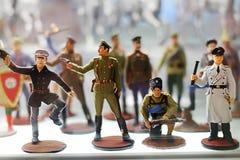 Στρατιωτικοί χαρακτήρες Στοκ Εικόνες