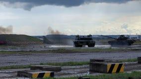 στρατιωτικός εμφανίστε οχήματα απόθεμα βίντεο