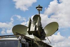 Στρατιωτικός κινητός σύνθετος ραντάρ στοκ εικόνες με δικαίωμα ελεύθερης χρήσης